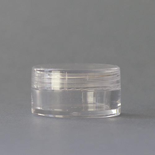 Tiegel aus Acryl, 5 ml (ideal für Pigmente oder Lipgloss)