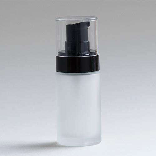 Glasflasche NOIRÉ, 30 ml, mit Lotionpumpe