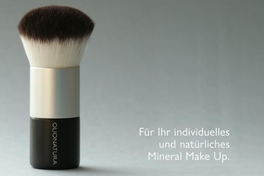 Der Kabuki von Olionatura®: Für Ihr individuelles und natürliches Mineral Make Up.