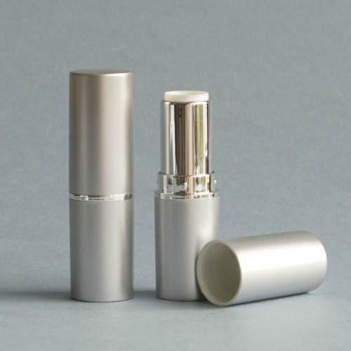 Lippenstifthülse silber-matt, 12,7 mm
