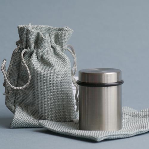 Puder-Press-Werkzeug von Olionatura®, 37 mm, mit Stoffbeutel