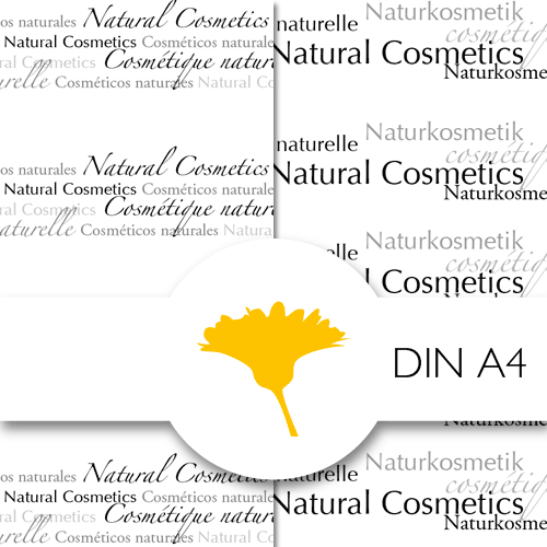 Schmuckpapier »Natural Cosmetics«