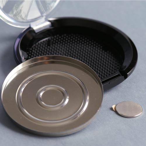 Puder-Compact-Dose, 56 mm, für gepressten Puder