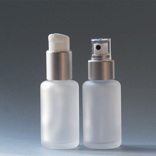 Glasflaschen der Serie SATINÉ, 50 ml