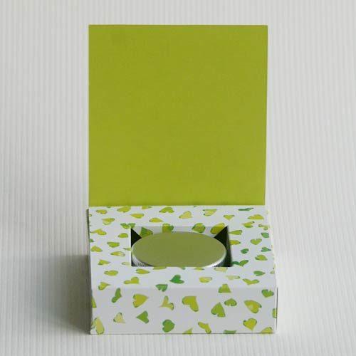 Schachtel für Lippenbalsame von Olionatura® (Plottervorlage)