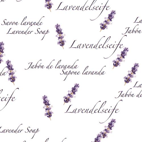 Schmuckpapier »Lavendelseife« von Olionatura®