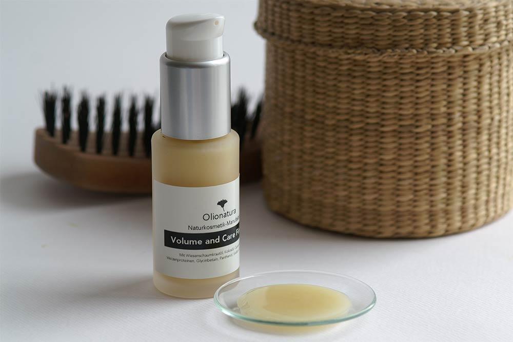 Haarpflegefluid in der Glasflasche SATINÉ, 30 ml