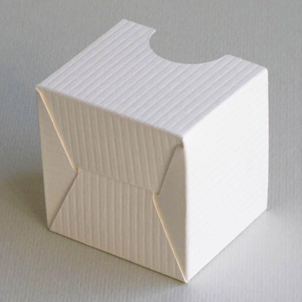Steckboden: Stülpkarton mit Sichtfenster, klein