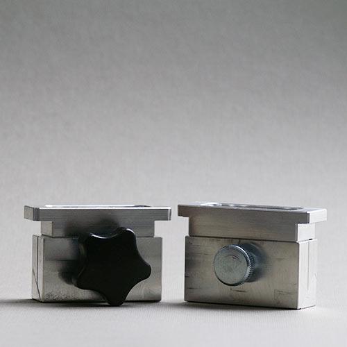 Lippenstift-Gießform aus Aluguss, beide Varianten