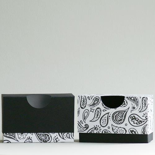 2-teiliger Produktkarton mit rundem Ausschnitt, ideal für Seifen