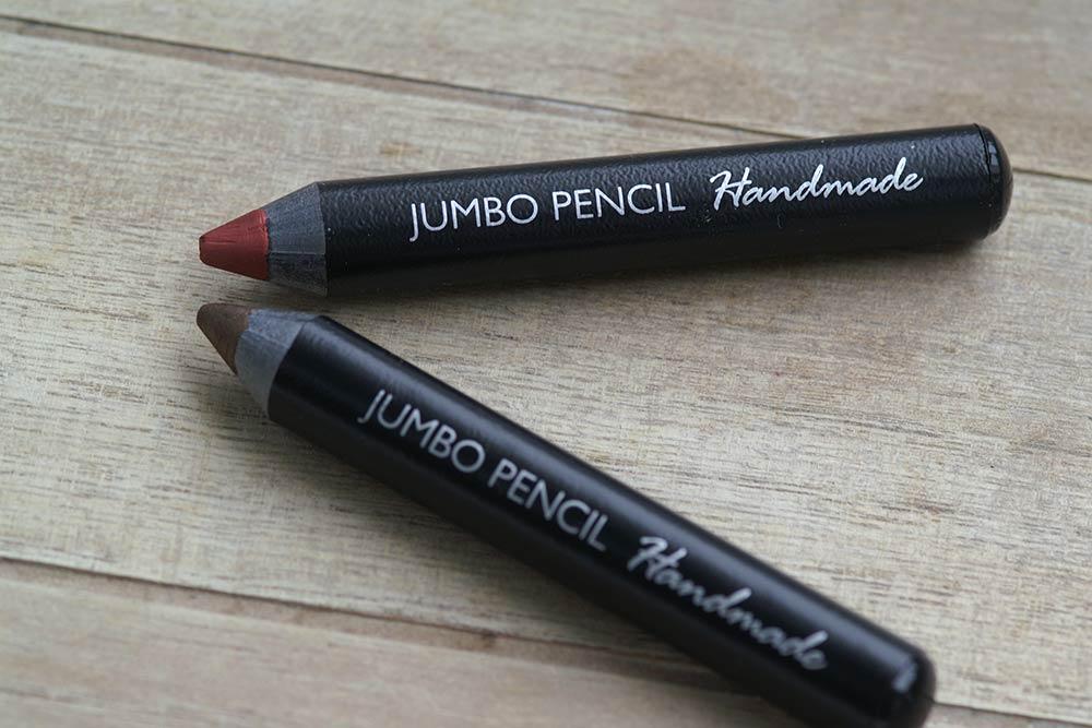 Lipliner und Eyeliner in den Jumbo Pencils von Olionatura®