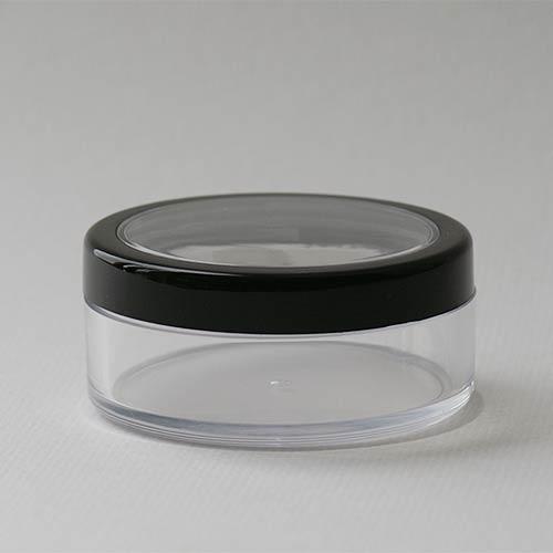 Puderdose, 50 ml, mit Sieb und Deckel