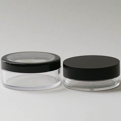 Olionatura-Puderdosen im Vergleich: 50 ml und 20 ml