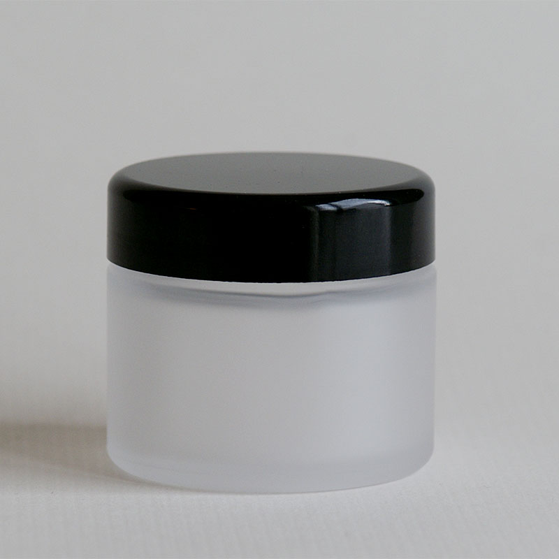 Glastiegel NOIRÉ, 50 ml