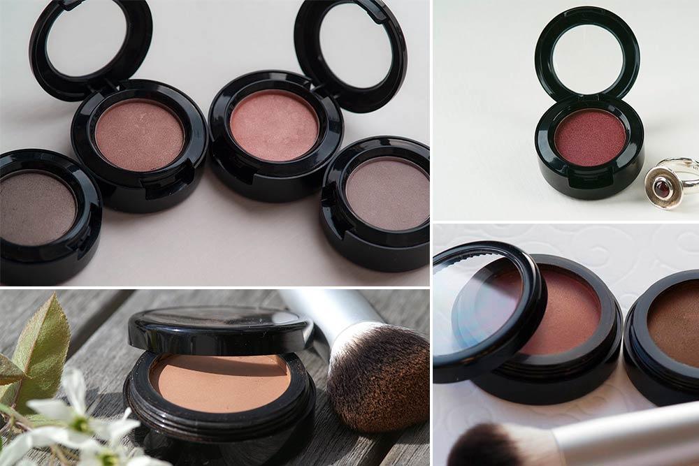 Puder pressen: Eyeshadow und Blush selbst gemacht