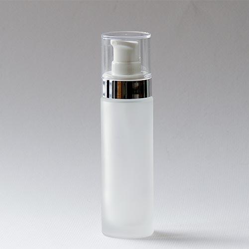Glasflasche aus der Serie ARGENTÉ, 50 ml, mit Lotionpumpe