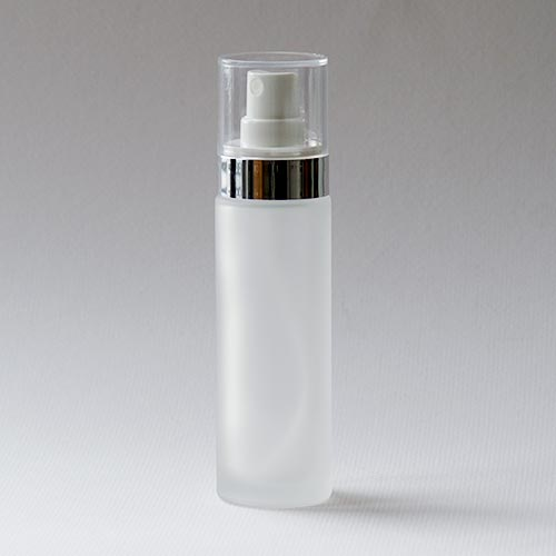 Glasflasche aus der Serie ARGENTÉ, 50 ml, mit Zerstäuber