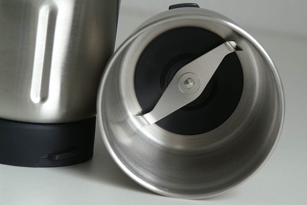 Mahlkammer der Kaffeemühle, aus Edelstahl
