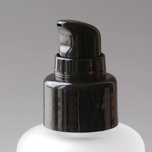 Lotionpumpe schwarz (glänzend), 24/410