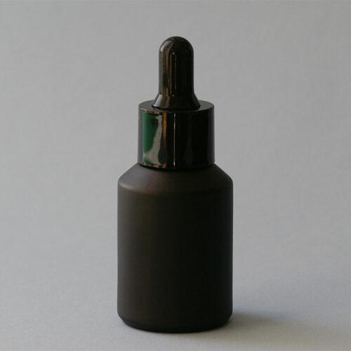 Serumflasche Noire Complete, mit Pipette