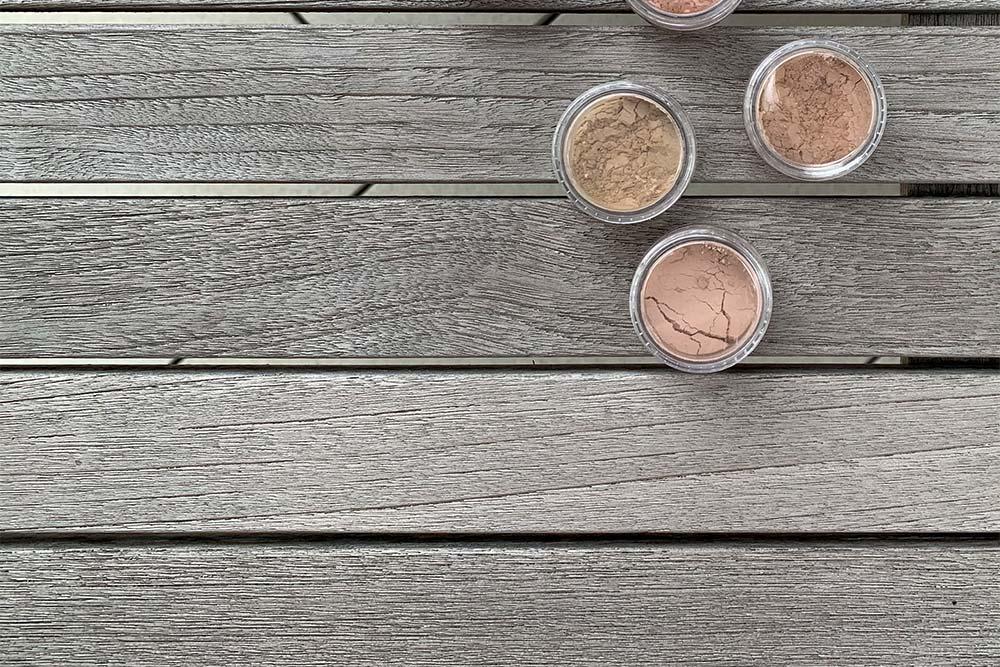 Hautton-Mischungen (Skinshades) mit Pigmenten der Mica-Matte-Reihe