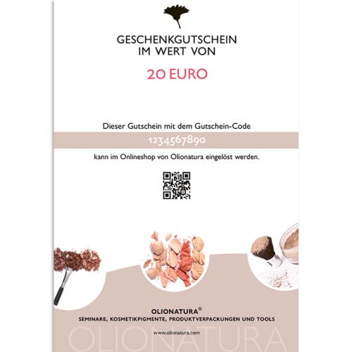 Geschenkgutschein als PDF